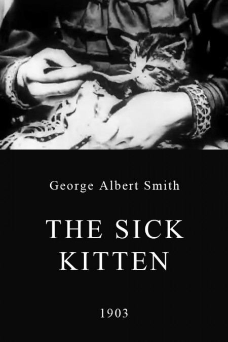 The Sick Kitten Poster