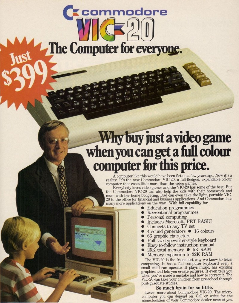VIC-20: Eighties commercial
